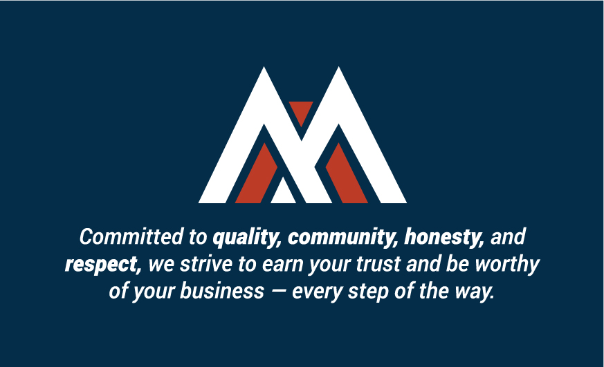 Messner Flooring is committed to quality, community, honesty, andrespect. We strive to earn your trust and be worthy of your business — every step of the way.